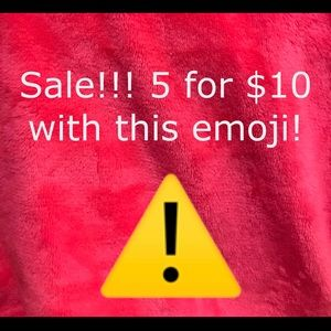 Other - ⚠️ 5 FOR $10!!⚠️ ANY ITEMS WITH THIS SYMBOL!!